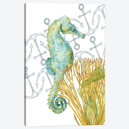 Undersea Creatures I Canvas Print #WNG266} by Melissa Wang Canvas Print