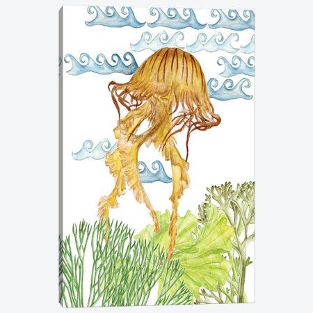 Undersea Creatures IV Canvas Print #WNG269} by Melissa Wang Canvas Art