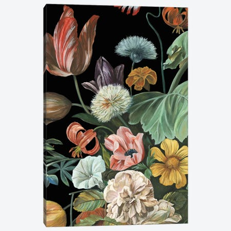 Baroque Floral I Canvas Print #WNG288} by Melissa Wang Canvas Artwork