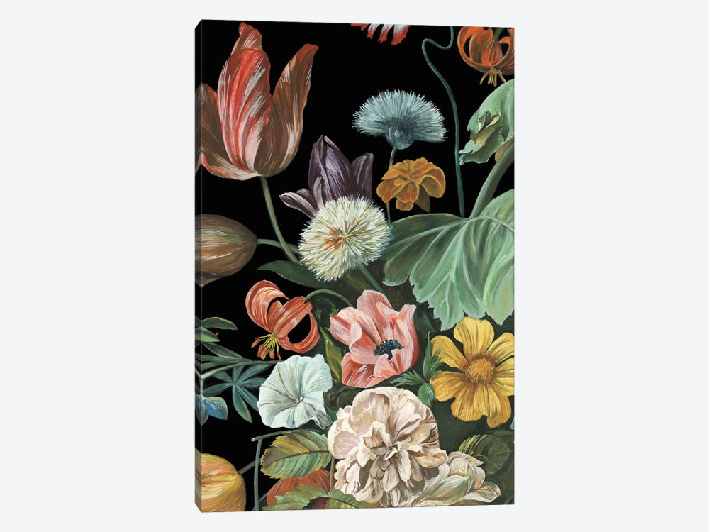 Baroque Floral I by Melissa Wang 1-piece Canvas Artwork
