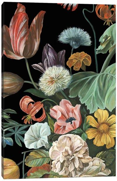 Baroque Floral I Canvas Art Print