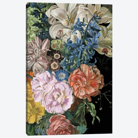 Baroque Floral II Canvas Print #WNG289} by Melissa Wang Canvas Art