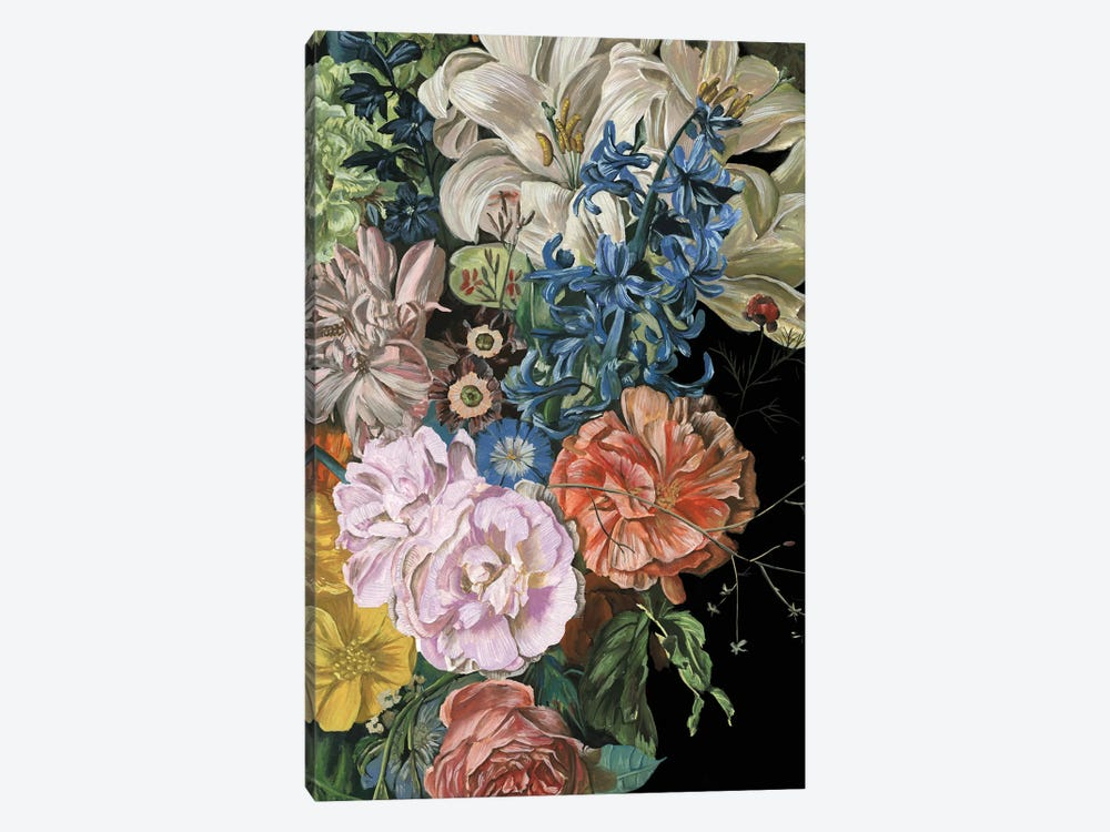 Baroque Floral II by Melissa Wang 1-piece Art Print