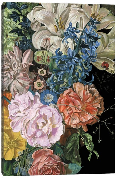 Baroque Floral II Canvas Art Print