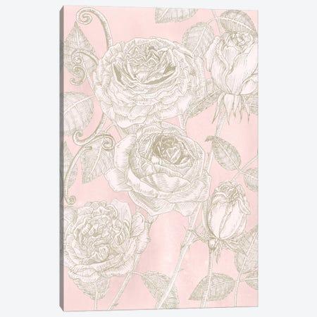 Blooming Roses I Canvas Print #WNG290} by Melissa Wang Canvas Art Print