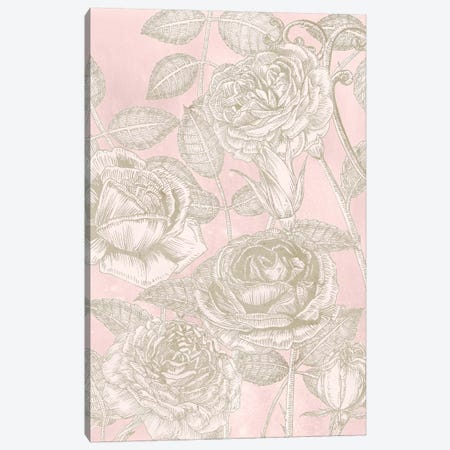 Blooming Roses II Canvas Print #WNG291} by Melissa Wang Canvas Print
