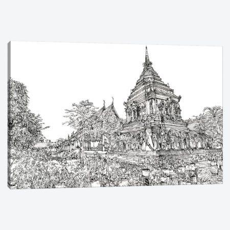 Chiang Mai I Canvas Print #WNG294} by Melissa Wang Canvas Artwork