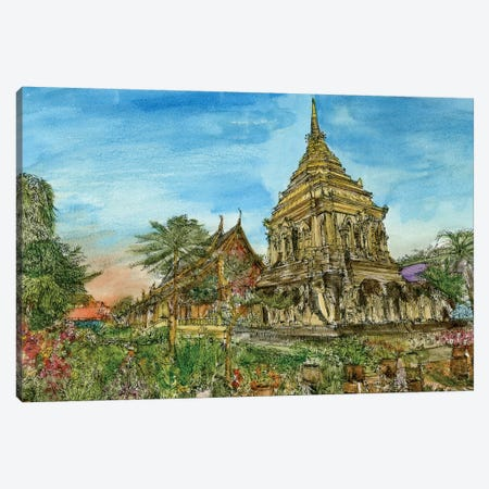 Chiang Mai II Canvas Print #WNG295} by Melissa Wang Canvas Artwork