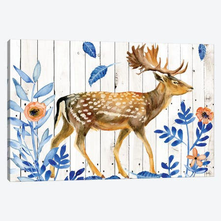 Dear Deer I Canvas Print #WNG300} by Melissa Wang Canvas Art Print