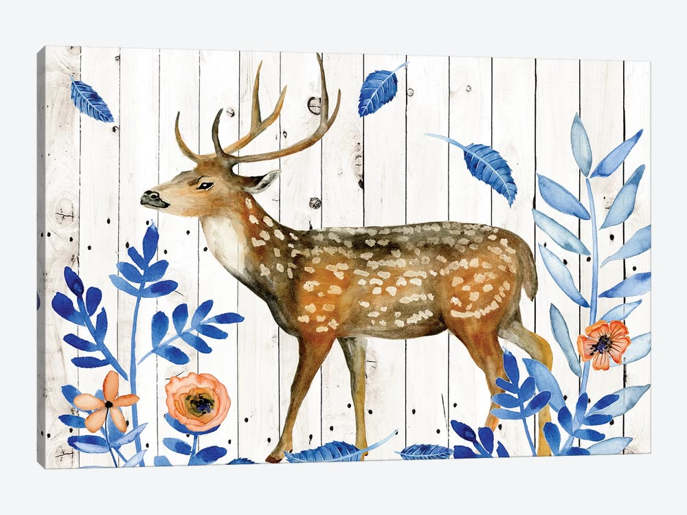 Dear Deer II by Melissa Wang 1-piece Canvas Wall Art