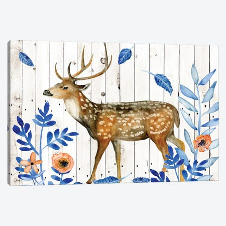 Dear Deer II Canvas Print #WNG301} by Melissa Wang Canvas Print