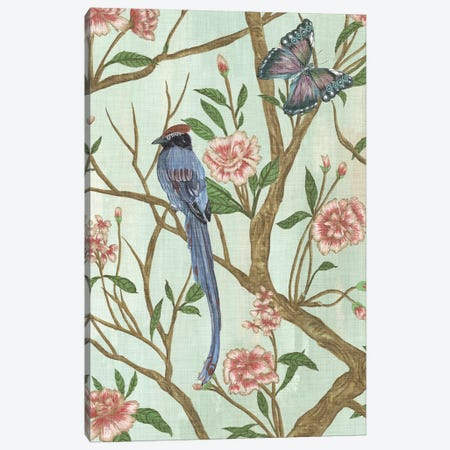 Delicate Chinoiserie I Canvas Print #WNG302} by Melissa Wang Canvas Print