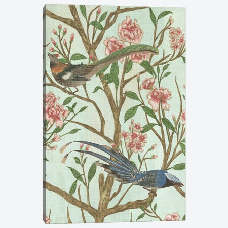 Delicate Chinoiserie II Canvas Print #WNG303} by Melissa Wang Art Print
