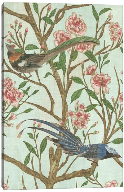 Delicate Chinoiserie II Canvas Art Print