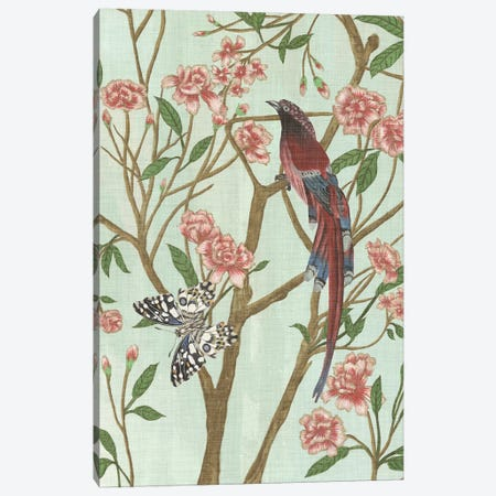 Delicate Chinoiserie III Canvas Print #WNG304} by Melissa Wang Canvas Art