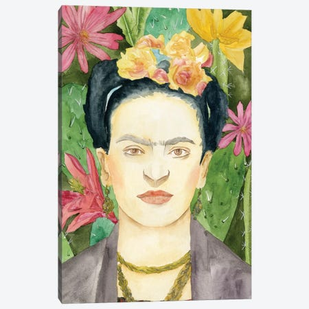 Frida Kahlo I Canvas Print #WNG312} by Melissa Wang Canvas Art