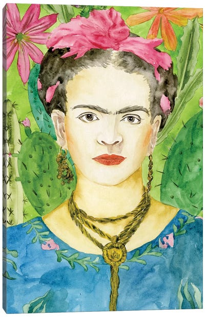 Frida Kahlo II Canvas Art Print
