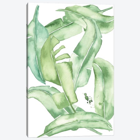 Green Paradise Palm I Canvas Print #WNG314} by Melissa Wang Canvas Print