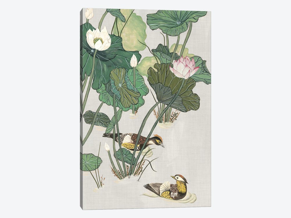 Lotus Pond I by Melissa Wang 1-piece Canvas Art