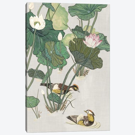 Lotus Pond I Canvas Print #WNG316} by Melissa Wang Canvas Art Print