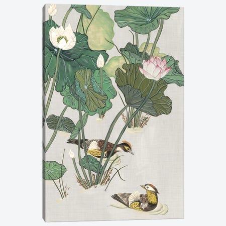 Lotus Pond I Canvas Print #WNG316} by Melissa Wang Canvas Art Print