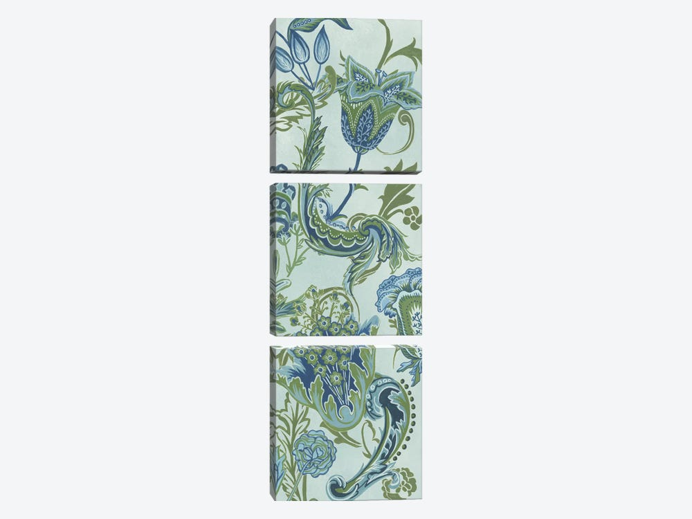 Serenity Chintz II by Melissa Wang 3-piece Art Print