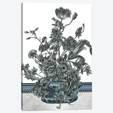 Bouquet In China I Canvas Print #WNG350} by Melissa Wang Canvas Wall Art