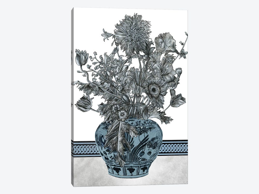 Bouquet In China II by Melissa Wang 1-piece Canvas Art Print