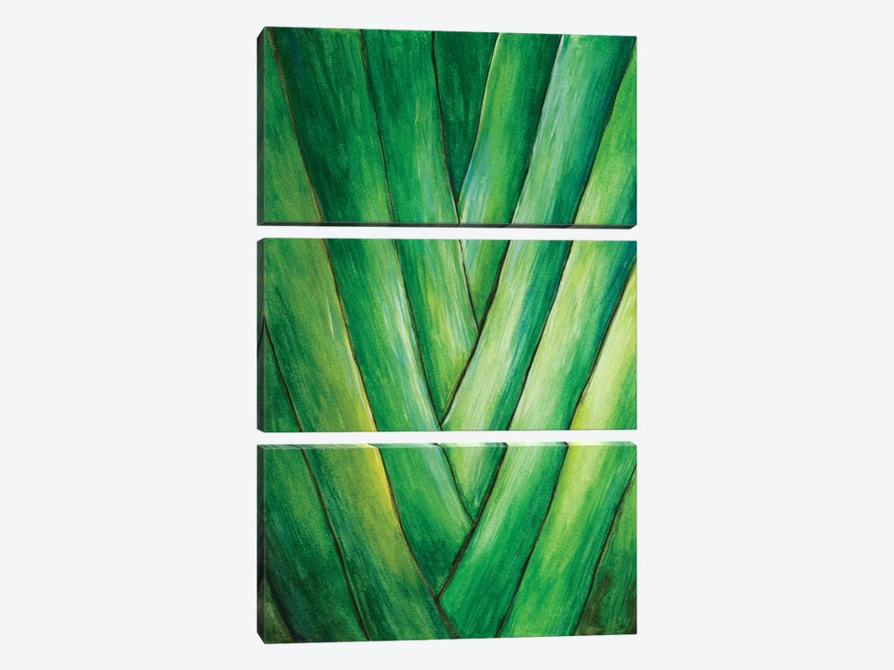 Tropical Crop III by Melissa Wang 3-piece Canvas Art