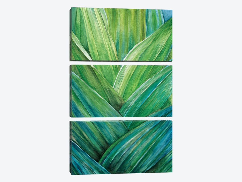 Tropical Crop IV by Melissa Wang 3-piece Canvas Print