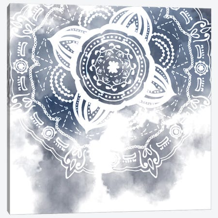 Midnight Blue Breath I Canvas Print #WNG370} by Melissa Wang Canvas Wall Art