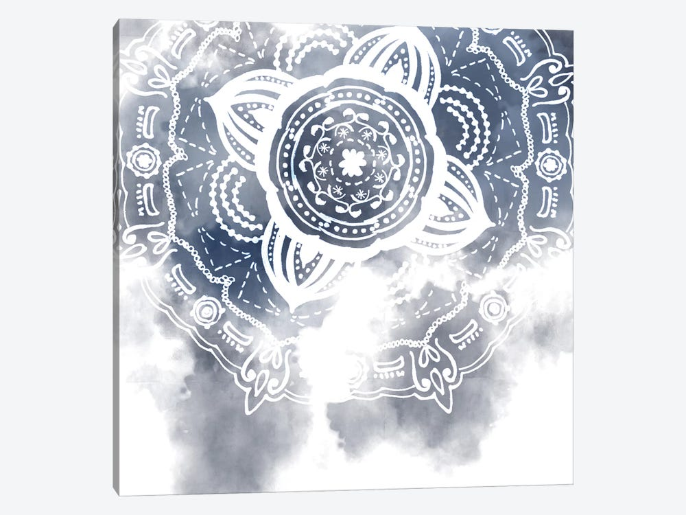 Midnight Blue Breath I by Melissa Wang 1-piece Canvas Wall Art