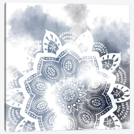 Midnight Blue Breath II Canvas Print #WNG371} by Melissa Wang Canvas Artwork