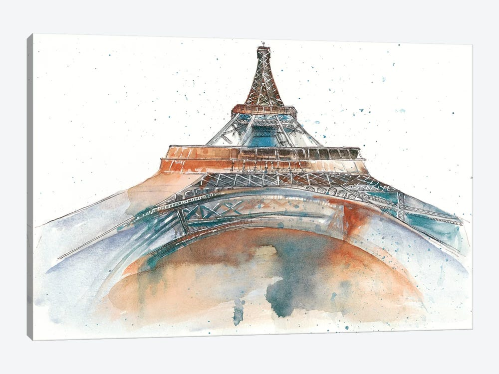 View Of Eiffel I by Melissa Wang 1-piece Canvas Artwork