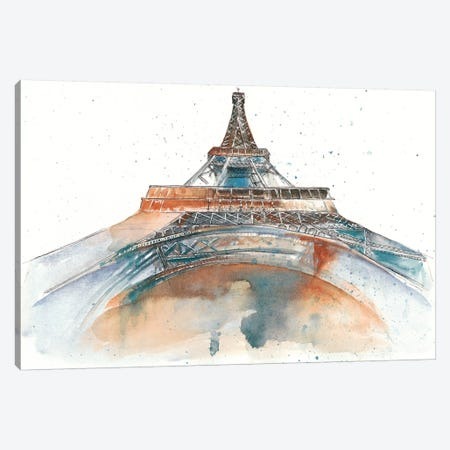 View Of Eiffel I Canvas Print #WNG37} by Melissa Wang Art Print