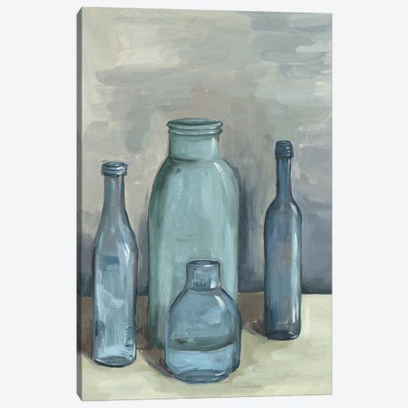 Still Life With Bottles I Canvas Print #WNG386} by Melissa Wang Canvas Wall Art