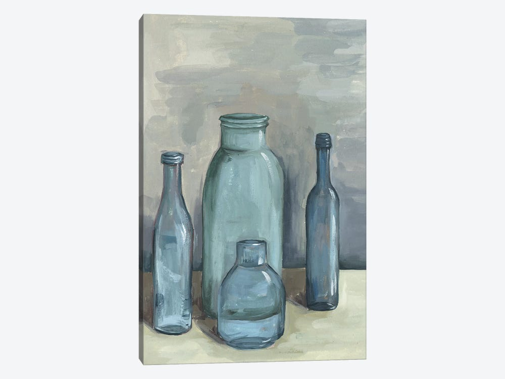 Still Life With Bottles I by Melissa Wang 1-piece Canvas Print