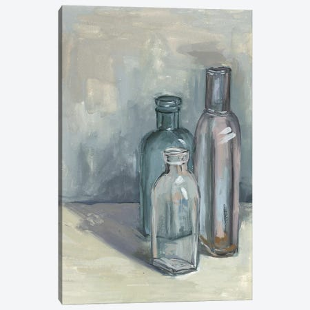 Still Life With Bottles II Canvas Print #WNG387} by Melissa Wang Canvas Art