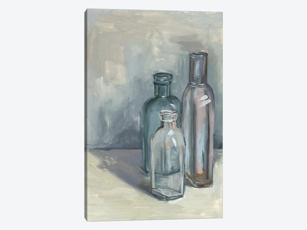 Still Life With Bottles II by Melissa Wang 1-piece Canvas Artwork