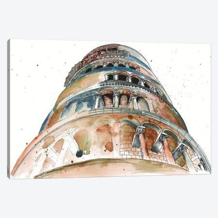 View Of Eiffel II Canvas Print #WNG38} by Melissa Wang Canvas Artwork