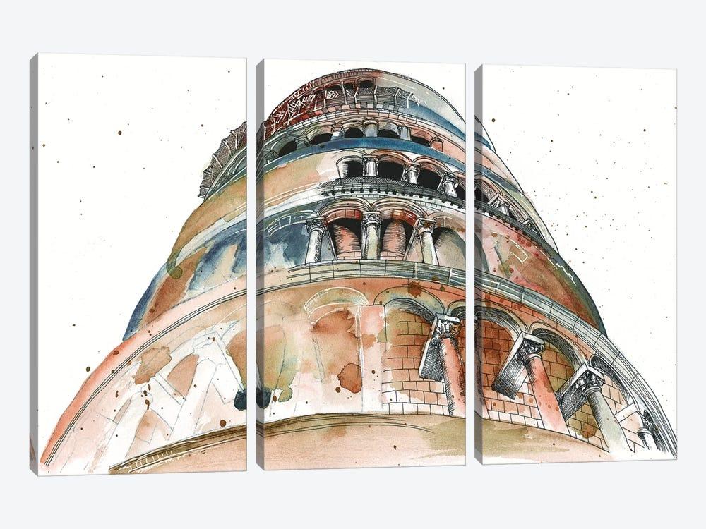 View Of Eiffel II by Melissa Wang 3-piece Canvas Art Print