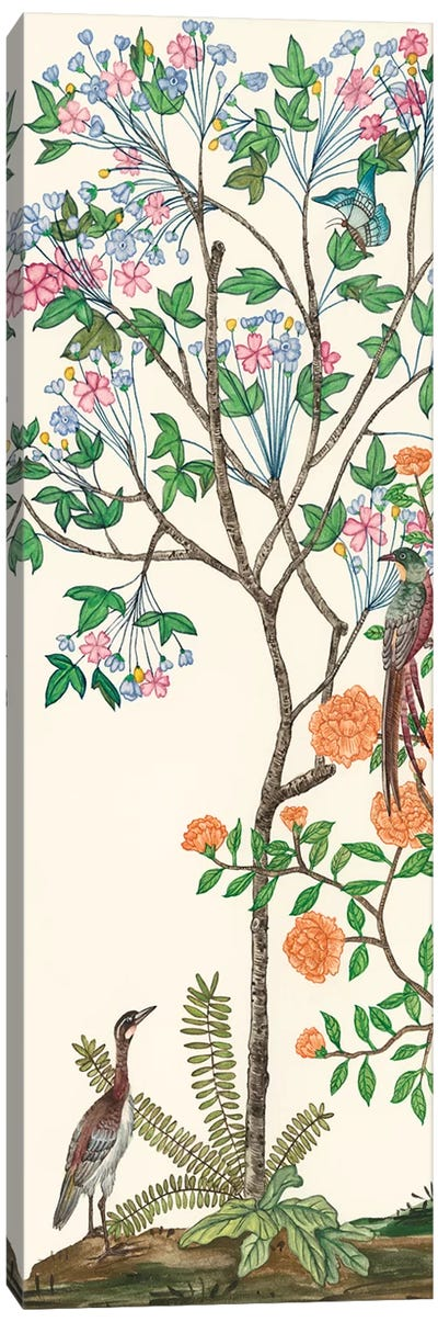 Traditional Chinoiserie I Canvas Art Print