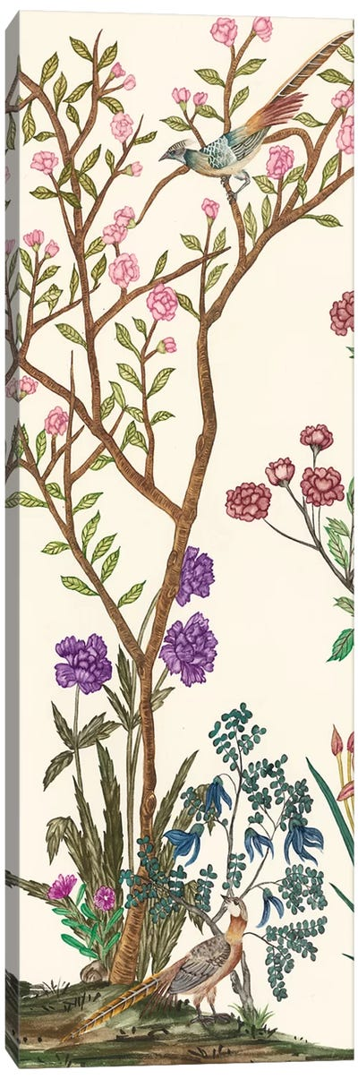 Traditional Chinoiserie II Canvas Art Print