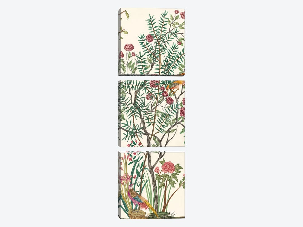 Traditional Chinoiserie III by Melissa Wang 3-piece Canvas Wall Art