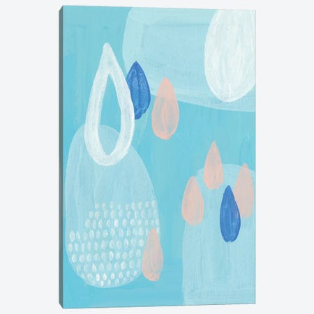 Azure I Canvas Print #WNG393} by Melissa Wang Canvas Art