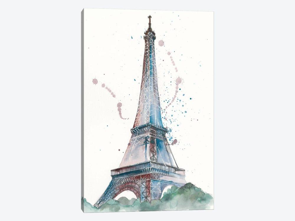 View Of Eiffel III by Melissa Wang 1-piece Canvas Artwork