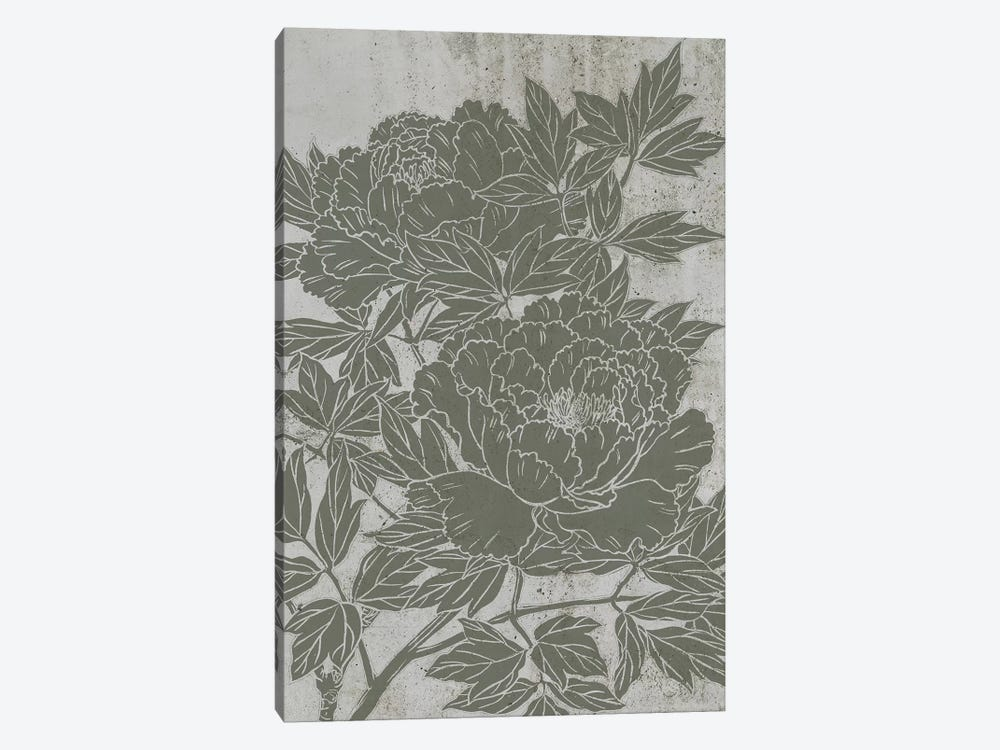 Blooming Peony I by Melissa Wang 1-piece Canvas Print