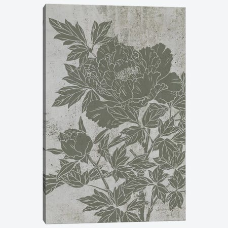 Blooming Peony II Canvas Print #WNG406} by Melissa Wang Canvas Print