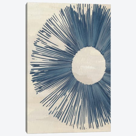 Blue Burst I Canvas Print #WNG407} by Melissa Wang Art Print