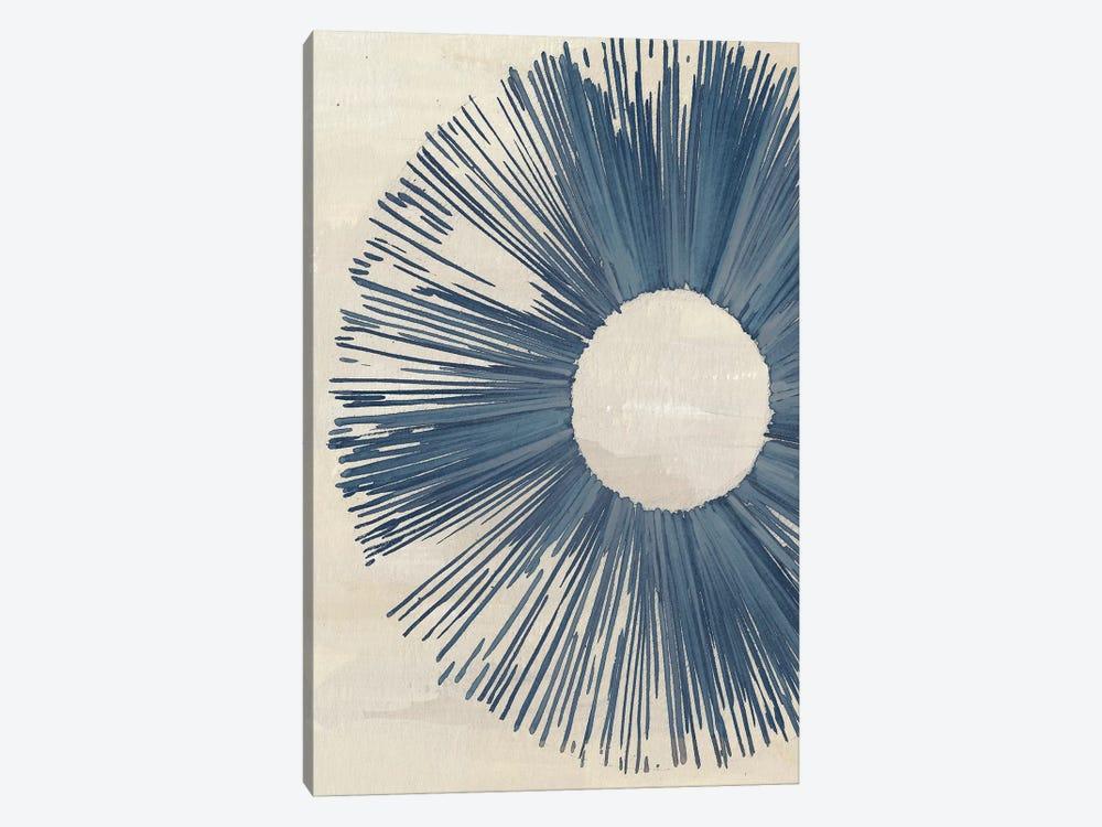 Blue Burst I by Melissa Wang 1-piece Canvas Art Print